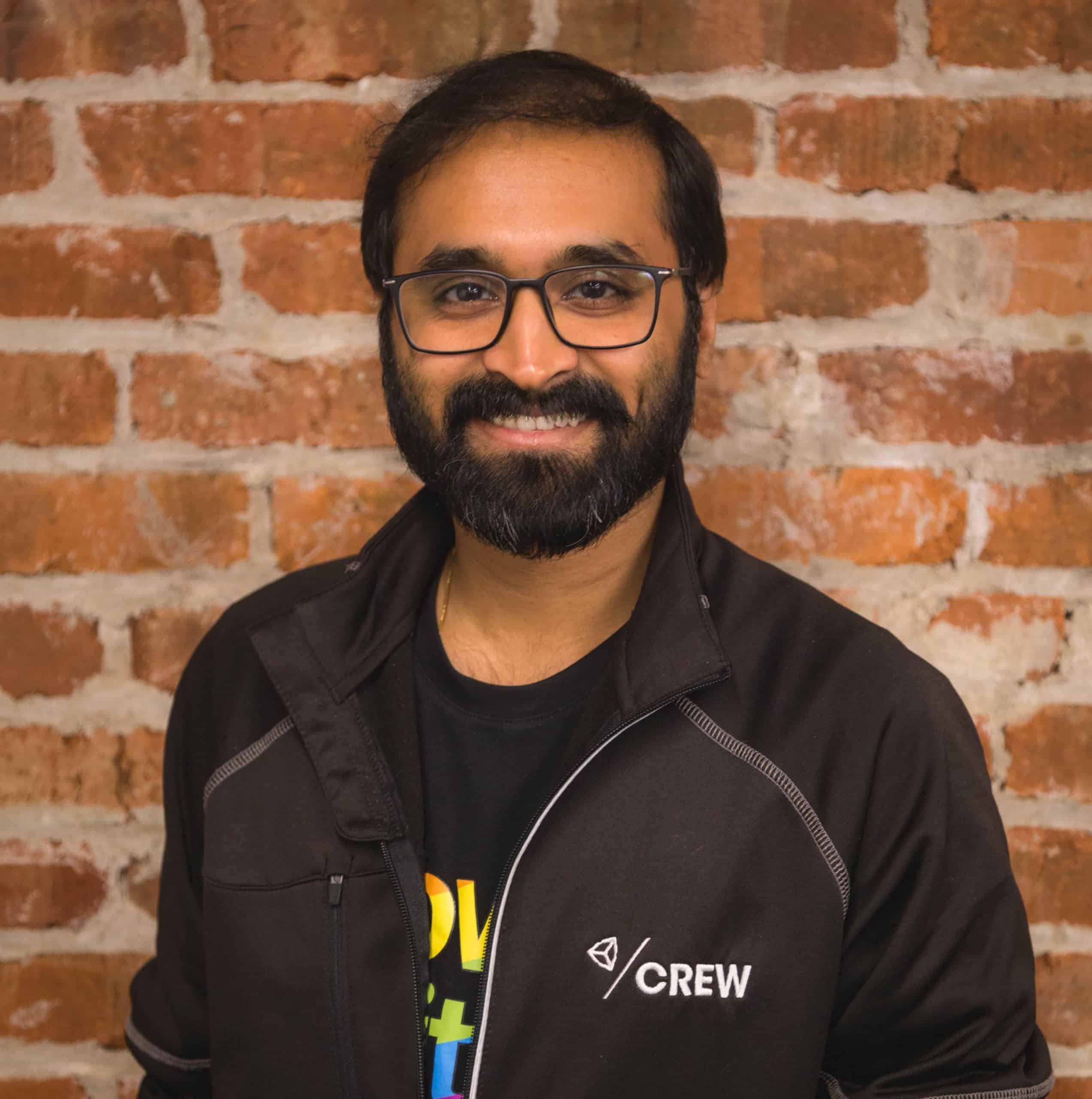 Mr. Aravind Neelakantan, a game engineer working as an advisor in Dot School of Design, Chennai.