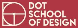 Logo of DOT school of design, one of the best design colleges in Chennai
