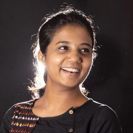 Kavitha Priyaarshini - Working on spatial design department in DOT Design school