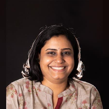 Subhashini - Working on Spatial Design department in Dot School of Design, Chennai